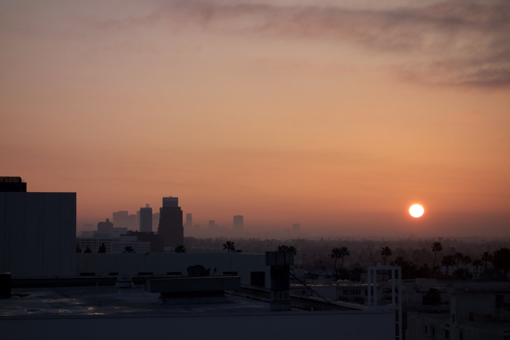 Hollywood Sunrise