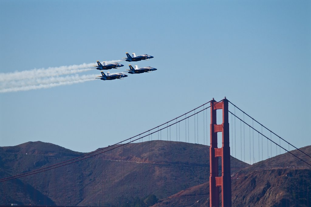 Blue Angels Golden Gate